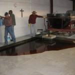 Candelilla Raffination schmelzen-sieben