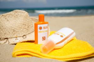 Sonnenschutzprodukte