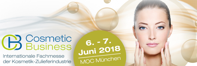 Messe MOC; CosmeticBusiness 2018
