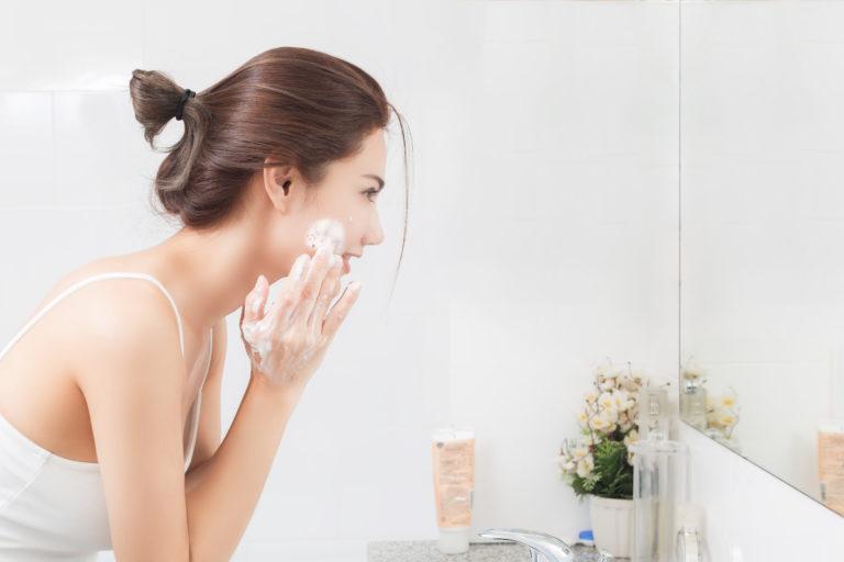 Optimale Reinigung, Gesichtsreinigung, Reinigungsmilch