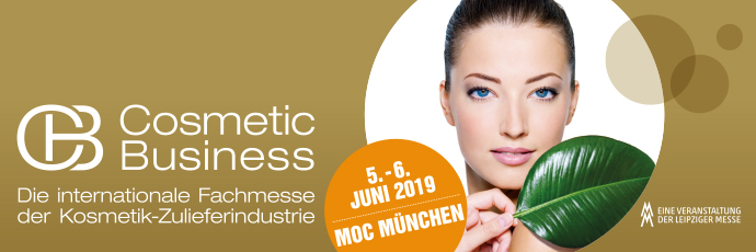 MOC München; Cosmetic Business 2019