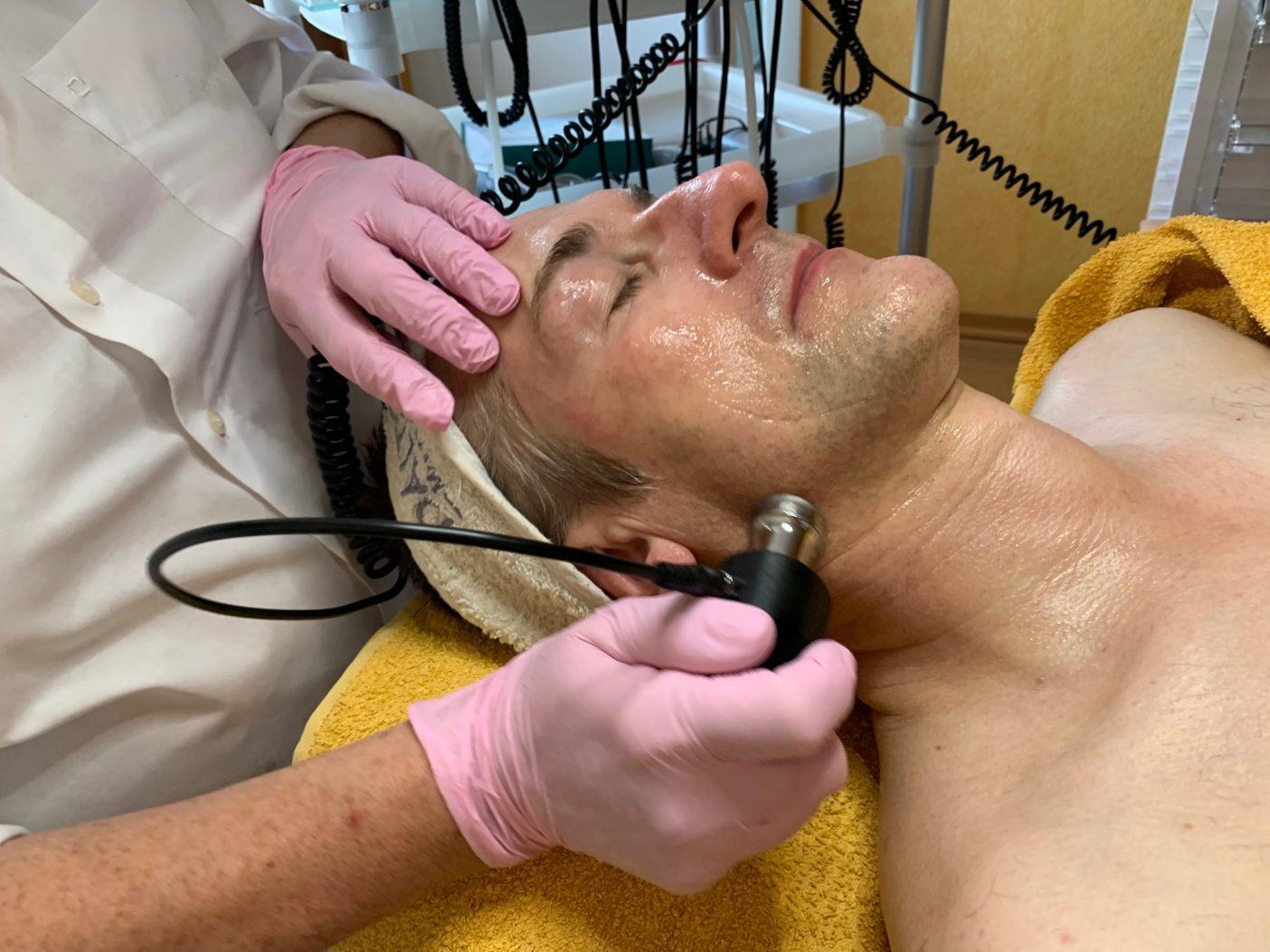 nadelfreie Mesotherapie, elektrische Mesotherapie