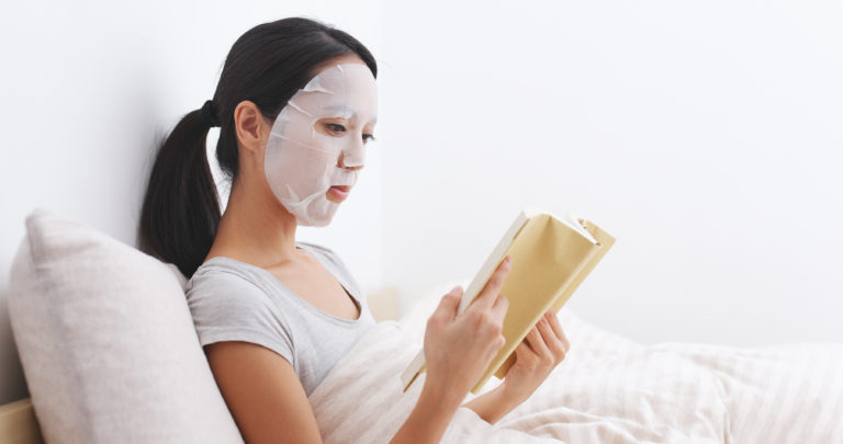 Sheet Maske, Bio-Cellulose, Clean Beauty