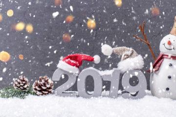 Weihnachten; Frohes neue Jahr, 2019