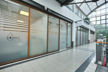 neues Labor; neue Geschäftsräume
