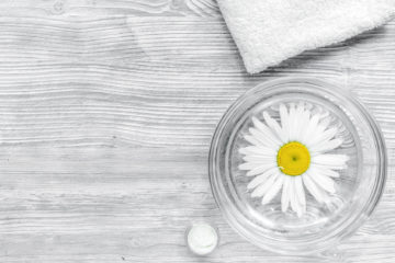 Minimalism, less is more, nature cosmetics