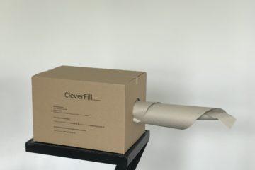 Nachhaltige Verpackungen; Fix-Aufrichtekartons ; CleverFill; Papierpolstertasche